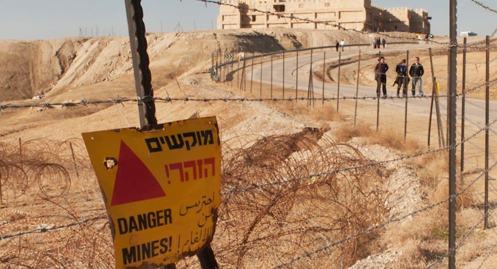 Израиль начал разминирование места крещения Христа на берегу Иордана