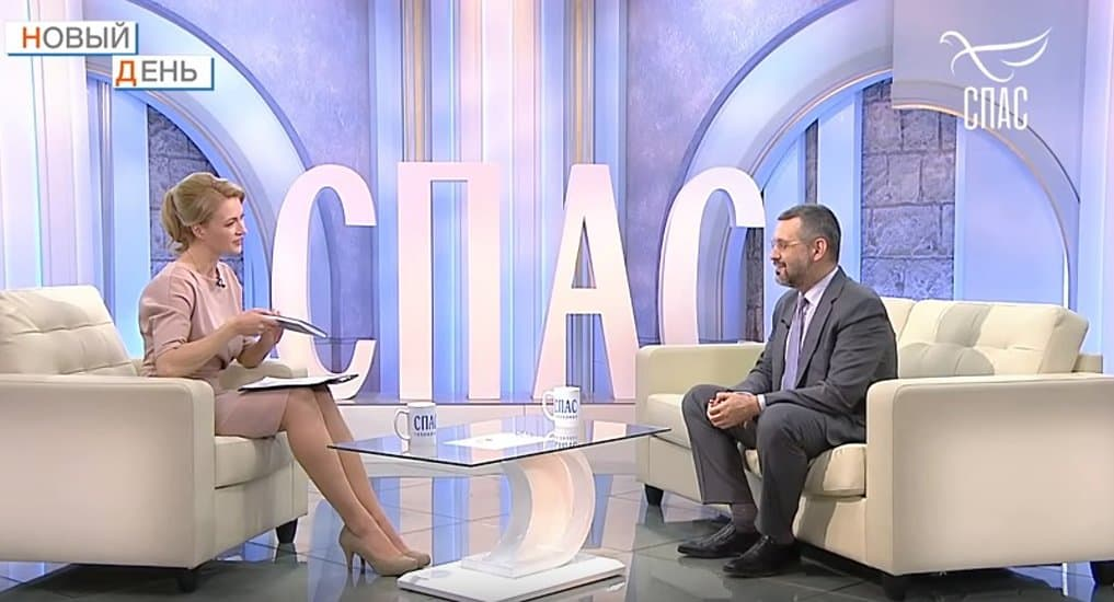 Владимир Легойда рассказал телеканалу «Спас» о своей новой книге и программе «Парсуна»