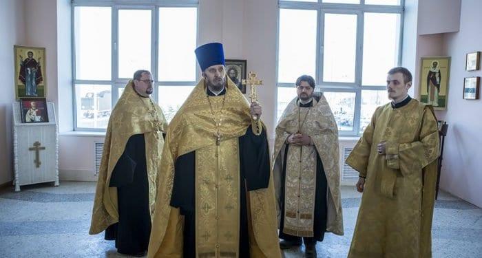 Первую молебную комнату, при поддержке РЖД, открыли на вокзале Кемерово