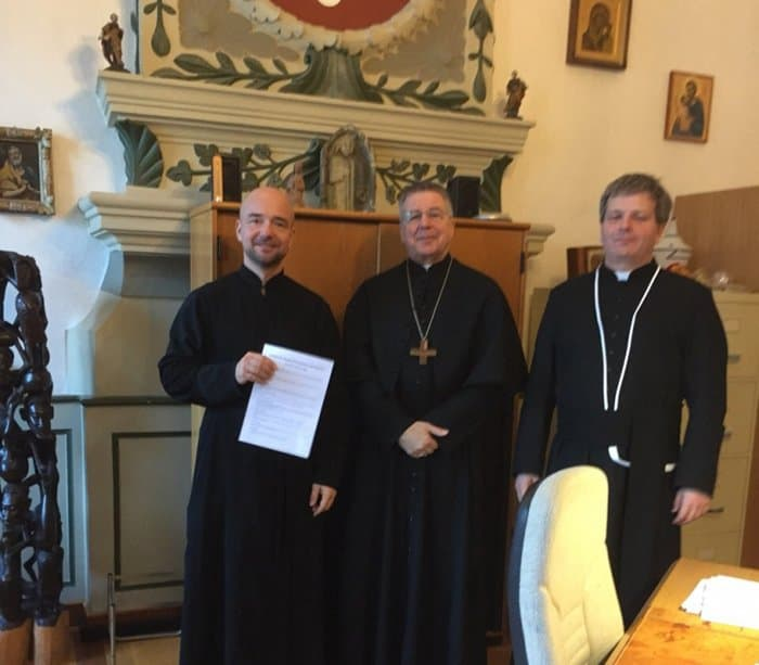 Корсунской епархии передали храм одного из древнейших монастырей Европы