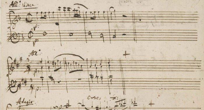 Опубликован последний музыкальный дневник Моцарта