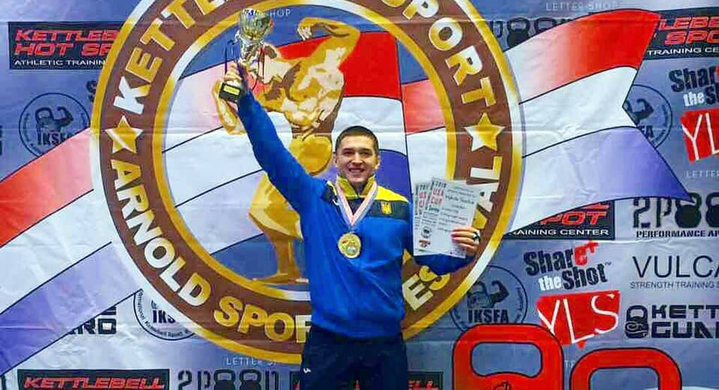 Киевский семинарист второй раз подряд выиграл престижный турнир по гиревому спорту
