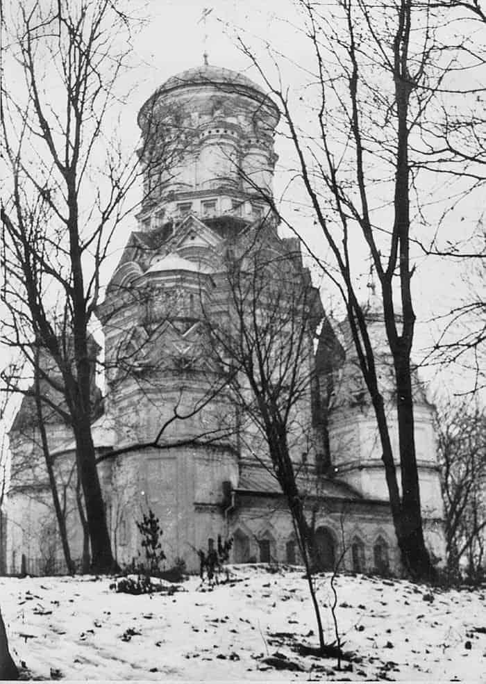 Церковь Иоанна Предтечи в селе Дьякове. Здесь служил отец священномученика, а после его смерти сам отец Сергий. В 1923 году храм был закрыт