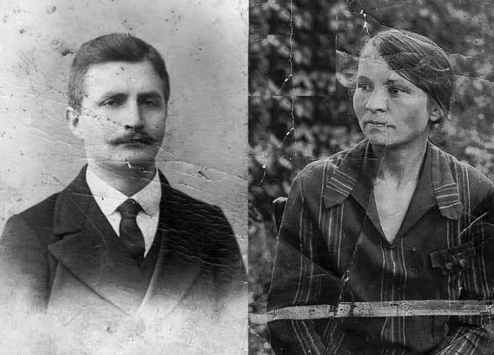 В 1916 году учитель словесности Сергей Сергеевич Воскресенский обвенчался с дочерью священника Александрой Николаевной Никольской и был рукоположен во диакона