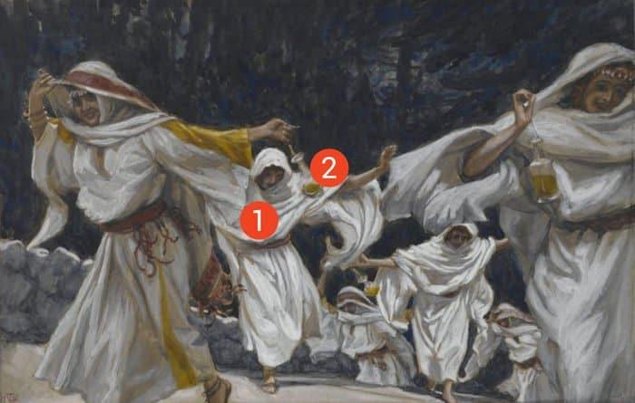 Великий вторник на картинах Джеймса Тиссо