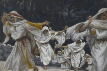 4_Тиссо Brooklyn_Museum_-_The_Foolish_Virgins_(Les_vierges_folles)_-_James_Tissot