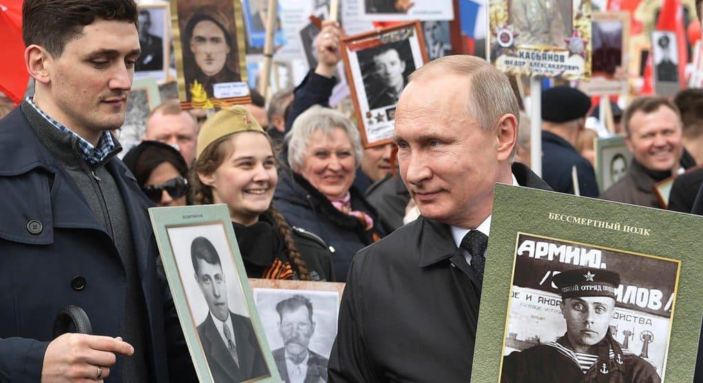 «Бессмертный полк» просит Президента разрешения пройти по Красной площади