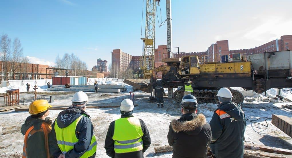 В Петербурге строится 6-этажный православный «Дом милосердия»