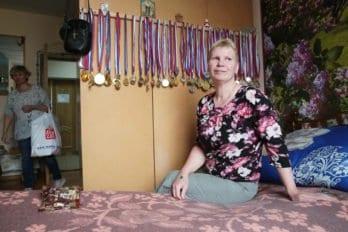 Занималась силовым спортом, медали все за победы на соревнованиях, правда не мирового уровня, а больше районного, областного...