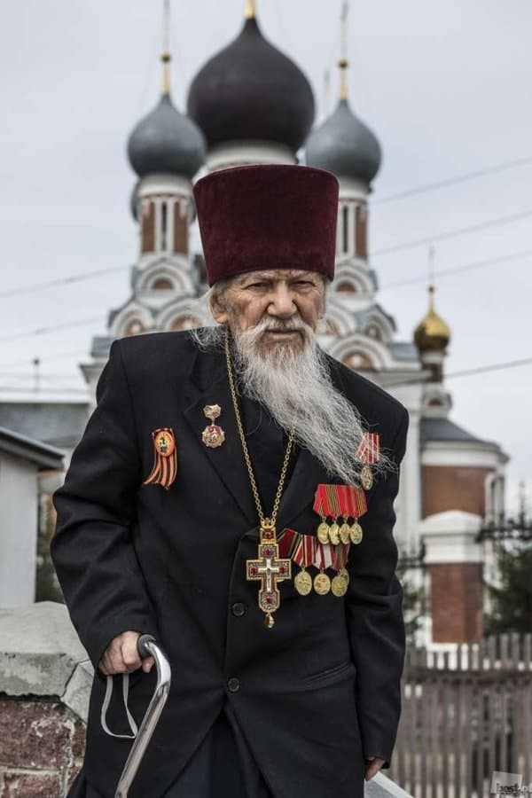 Преставился старейший новосибирский священнослужитель - фронтовик Иосиф (Бирюков)