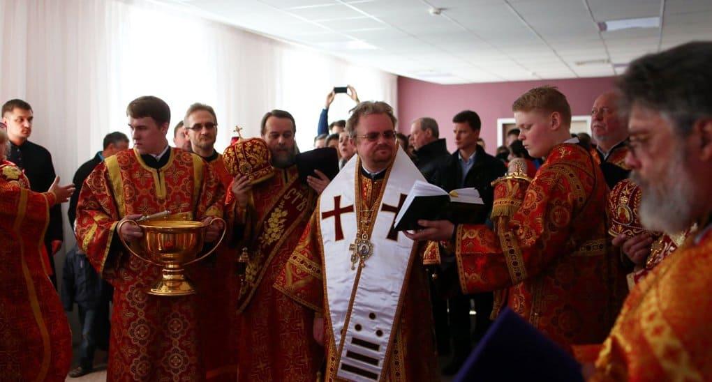 При храме в Ленинградской области открыли детский хоспис