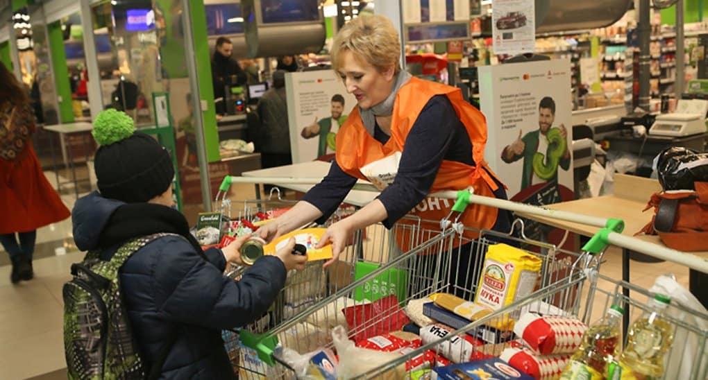 Короба для сбора продуктов нуждающимся устанавливают в Петербурге