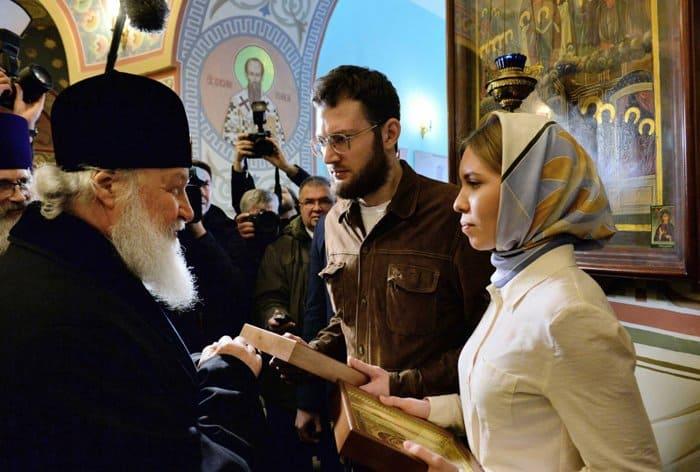 В храме Бутырки обвенчали пару, которую благословил патриарх Кирилл
