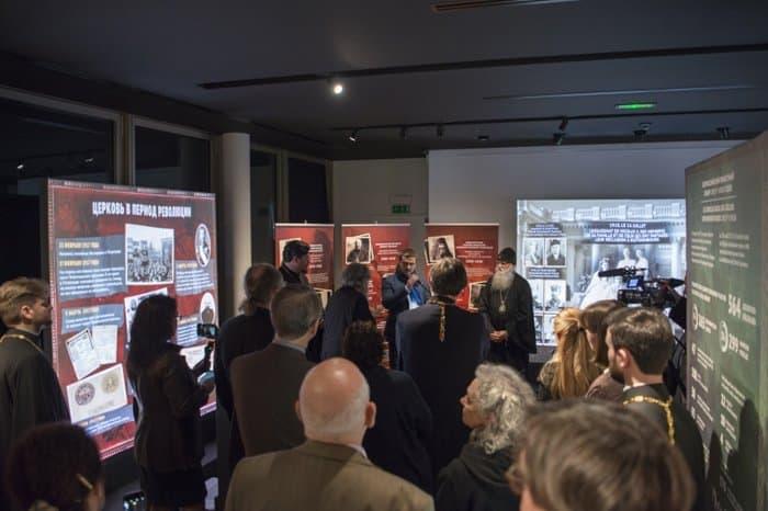 Парижане знакомятся с историей русских новомучеников