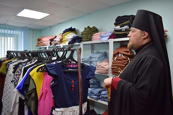 Златоустовская епархия открыла второй за год центр гумпомощи