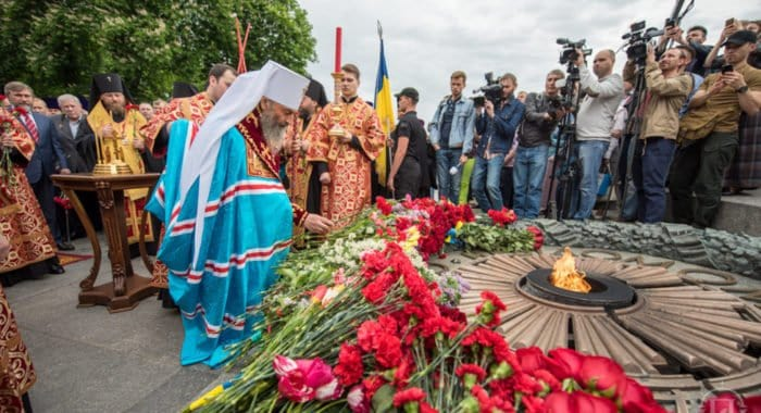 Главы Церквей на Украине, в Беларуси и Казахстане почтили память павших в Великую Отечественную