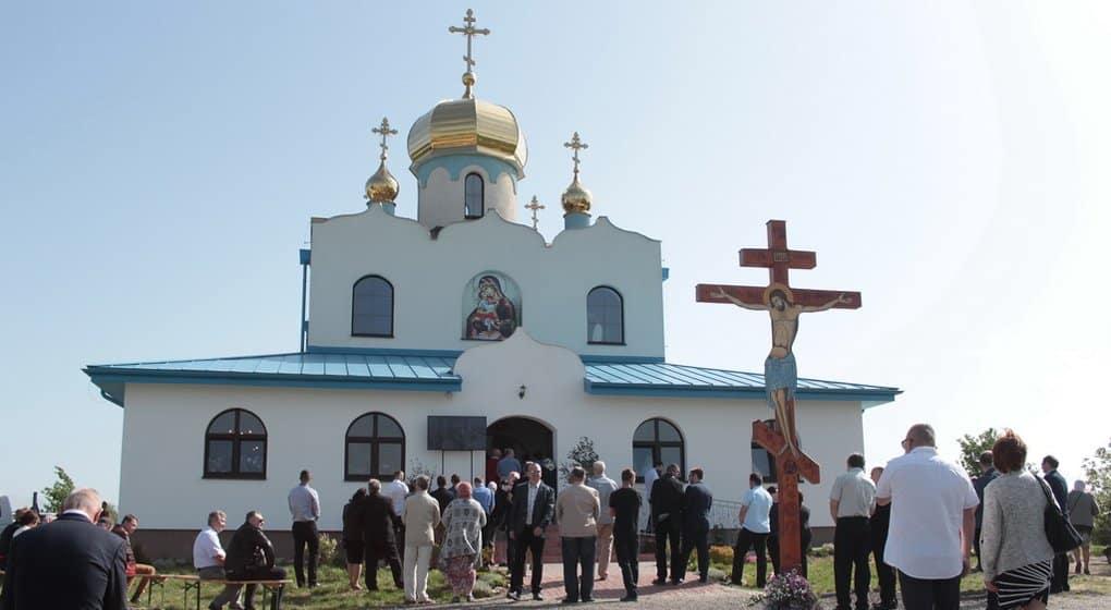 Самый западный православный храм Словакии посвятили иконе и двум святым