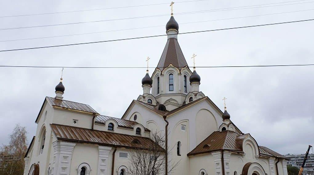 Первый храм Москвы в честь княгини Ольги сдадут летом 2018-го