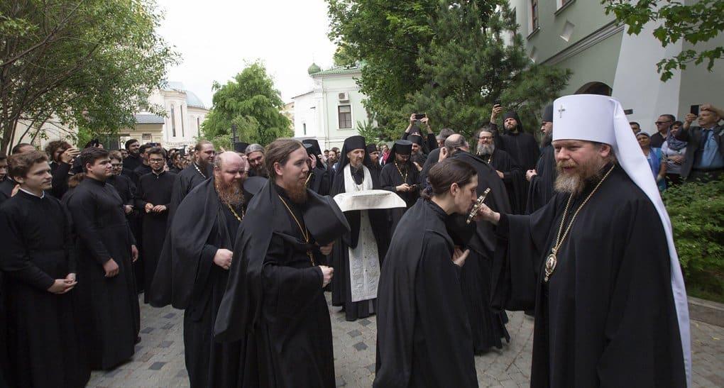 Митрополит Тихон 20 мая попрощается с братией и прихожанами Сретенского монастыря