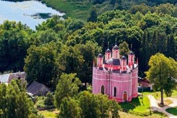 Спасо-Преображенская церковь. Тверская область, Старицкий район, с. Красное