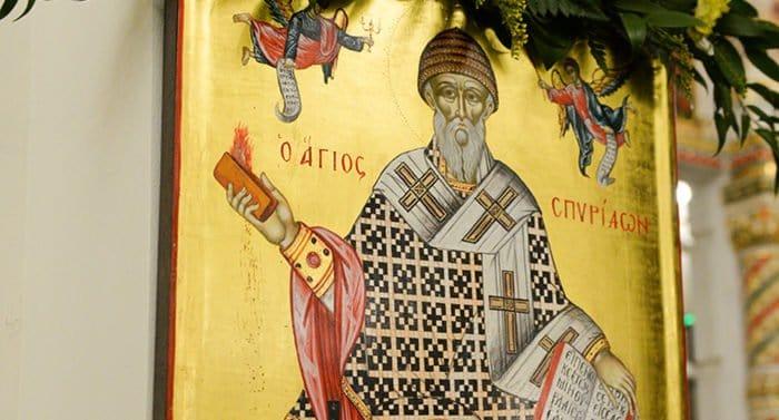 В Краснодар принесут мощи святителя Спиридона Тримифунтского