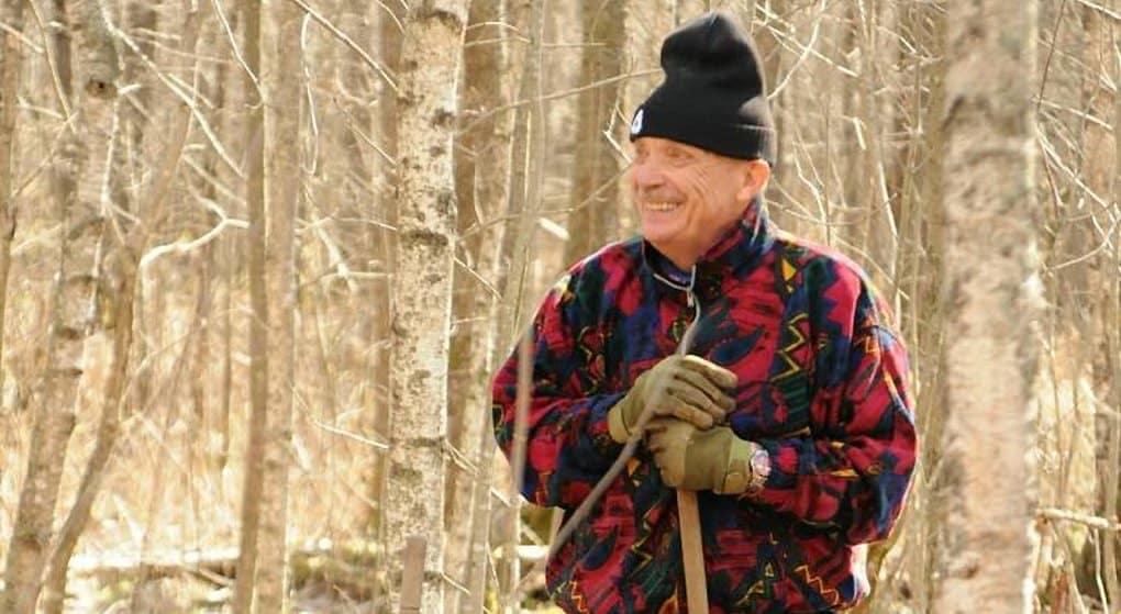 Житель Германии помогает в поисках останков советских солдат