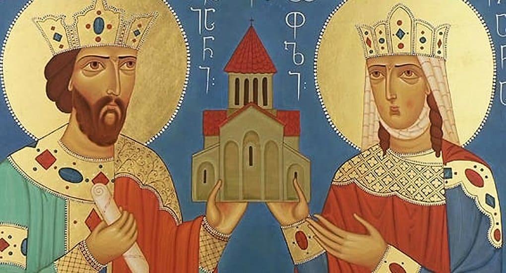 В русский месяцеслов включили древних грузинских и западных святых