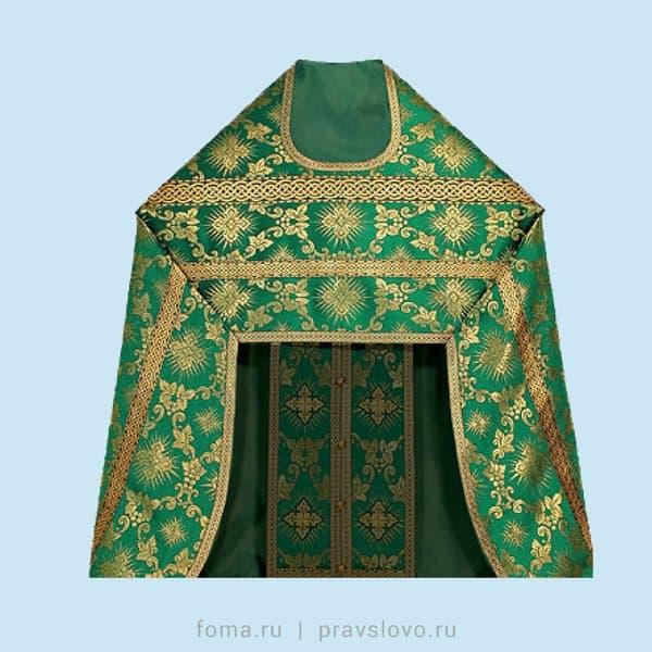Типы церковных одежд