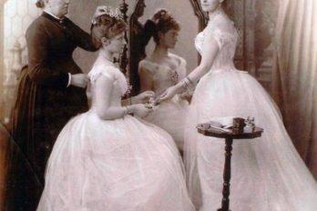 2. 1884год бракосочетание Елизаветы Феодоровны. Аликс 12 лет
