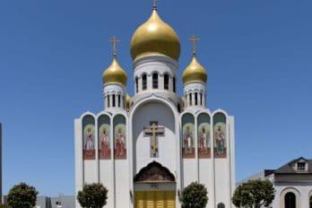 Храм в Сан-Франциско, где находятся мощи святого Иоанна Шанхайского