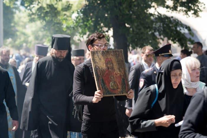 """С Курской иконой """"Знамение"""" – в 400-й раз"""