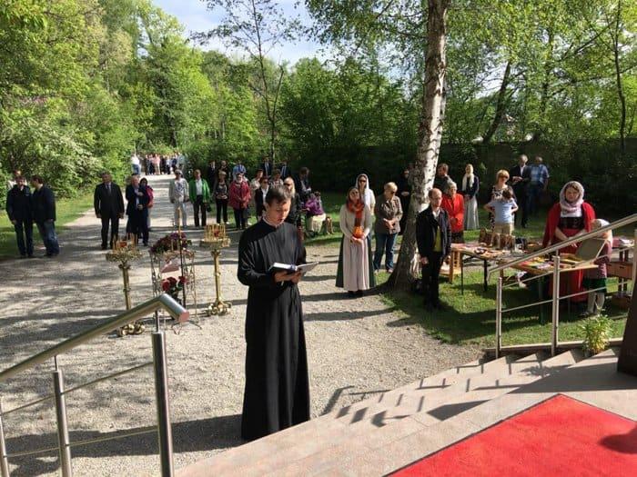 В годовщину освобождения узников концлагеря Дахау помолились о его жертвах