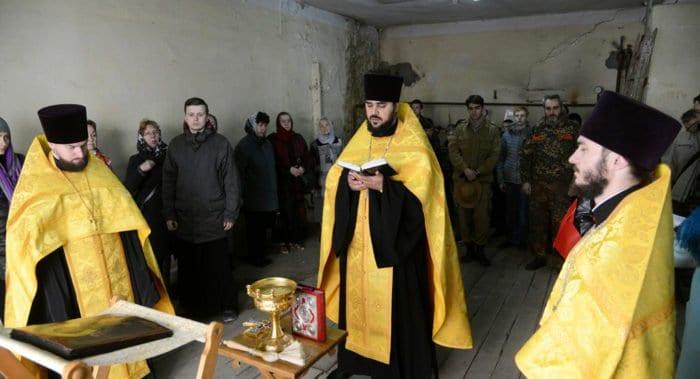 В храме нижегородского кремля помолились впервые за 100 лет