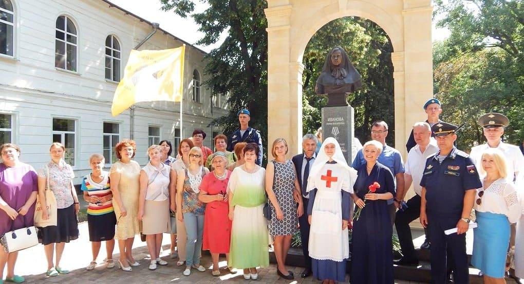 В Ставрополе открыли памятник сестре милосердия – героине Первой мировой