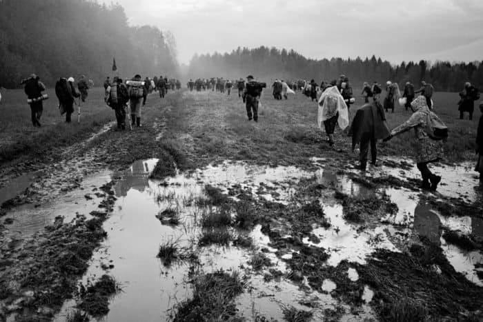Фотограф Алексей Мякишев в 23-й раз прошел Великорецким крестным ходом. И сделал уникальные кадры