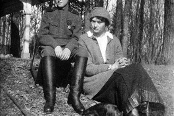 Великая княгиня Татьяна Николаевна и цесаревич Алексий в Царском Селе.