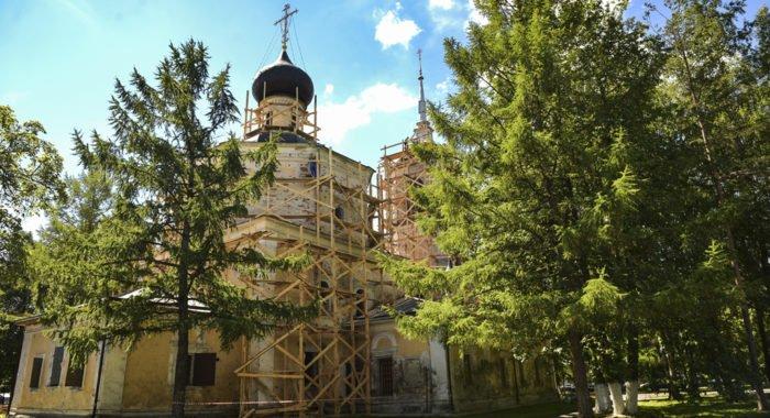 Церкви вернули один из красивейших храмов Вологды