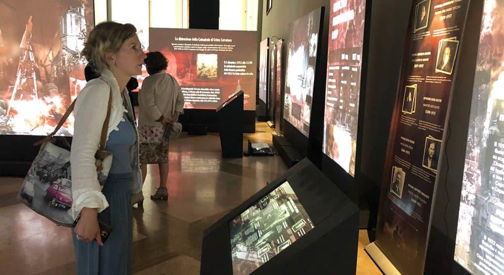 Жителям Рима представили выставку о новомучениках Русской Церкви
