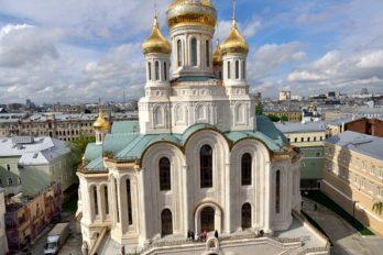 Храм Новомучеников и Исповедников Российских в Сретенском монастыре