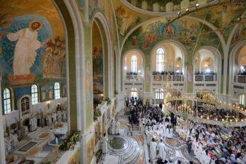 Храм Новомучеников и Исповедников Российских в Сретенском монастыре, фото pravoslavie.ru