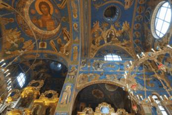 Храм Иверской иконы Божией Матери на Мичуринском проспекте при академии ФСБ