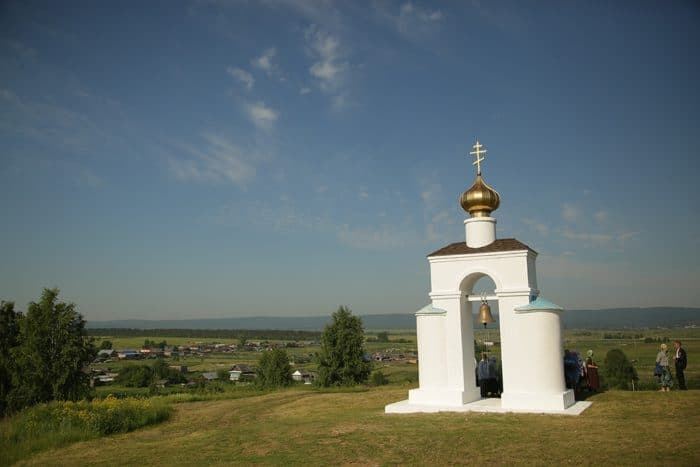 Праздник Боголюбской иконы в возрождающемся женском монастыре Екатеринбургской епархии