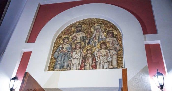 В Бендерах, на месте, где молилась Царская семья, освятили часовню в ее честь