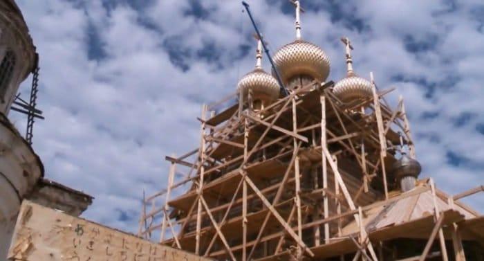 Уникальную церковь на Вологодчине реставрируют по фотографиям