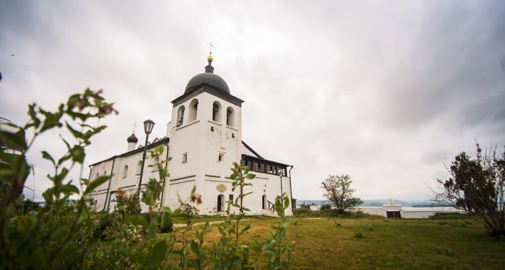 На острове-граде Свияжск освятили восстановленный храм XVI-XVII веков