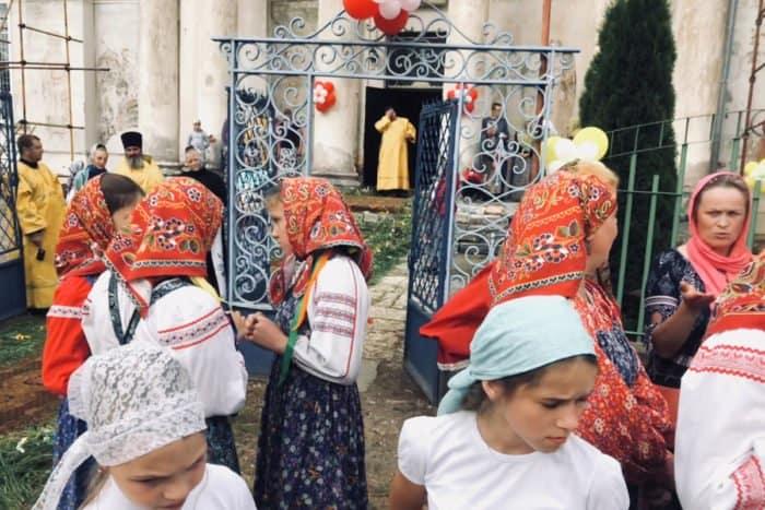 В стане у святого князя Владимира