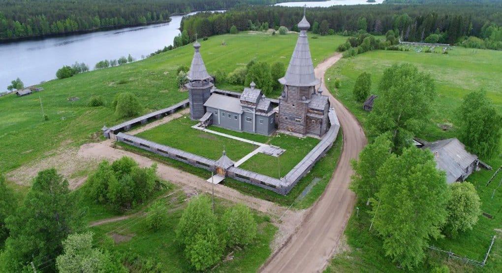 Уникальный храмовый комплекс XVIII века освятят в Архангельской области