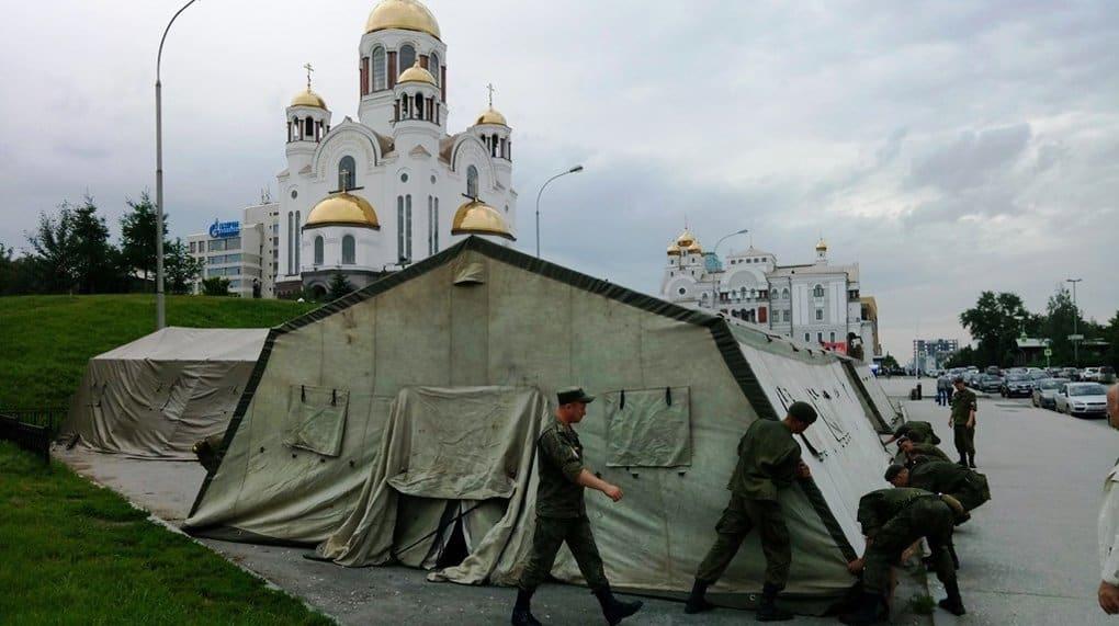 Для участников «Царских дней» в Екатеринбурге откроется палаточный городок