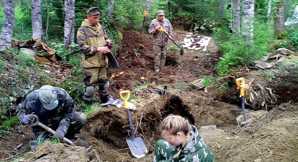 Останки 17 советских солдат подняли в Финляндии для перезахоронения