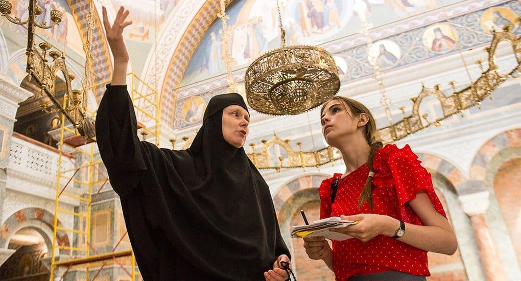 Уральским журналистам показали восстанавливаемый храм в честь иконы Божией Матери «Всех скорбящих Радость» в Ново-Тихвин...